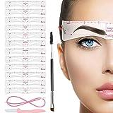 Augenbrauen-Schablonen 12 Styles