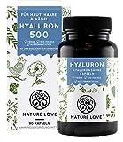 NATURE LOVE 500 mg Hyaluronsäure Kapseln