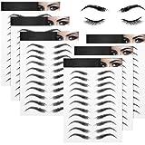 Klebetattoos für die Augenbrauen