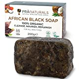 Schwarze Seife aus Ghana