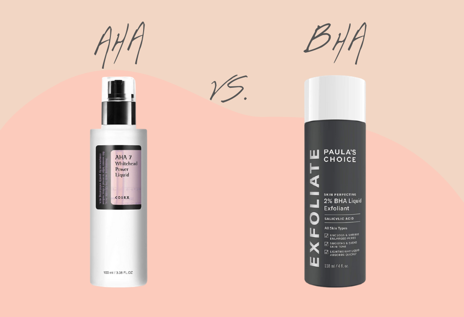 Unterschied zwischen AHA und BHA Peelings