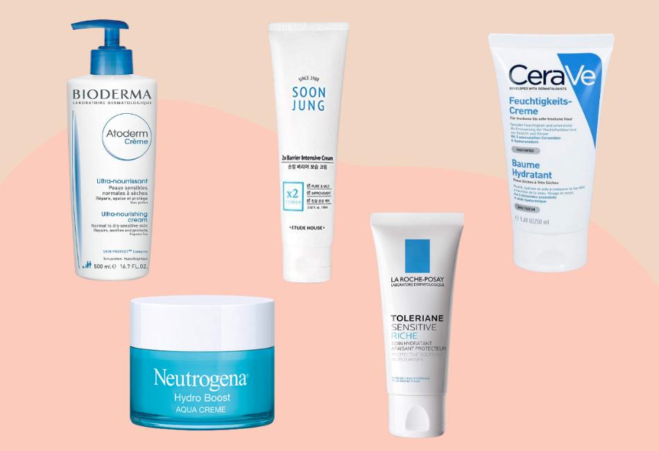 Beste Feuchtigkeitscreme jeden Hauttypen Gesichtscreme Creme