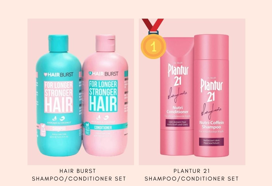 Die besten Shampoos und Conditioner für Haarwuchs