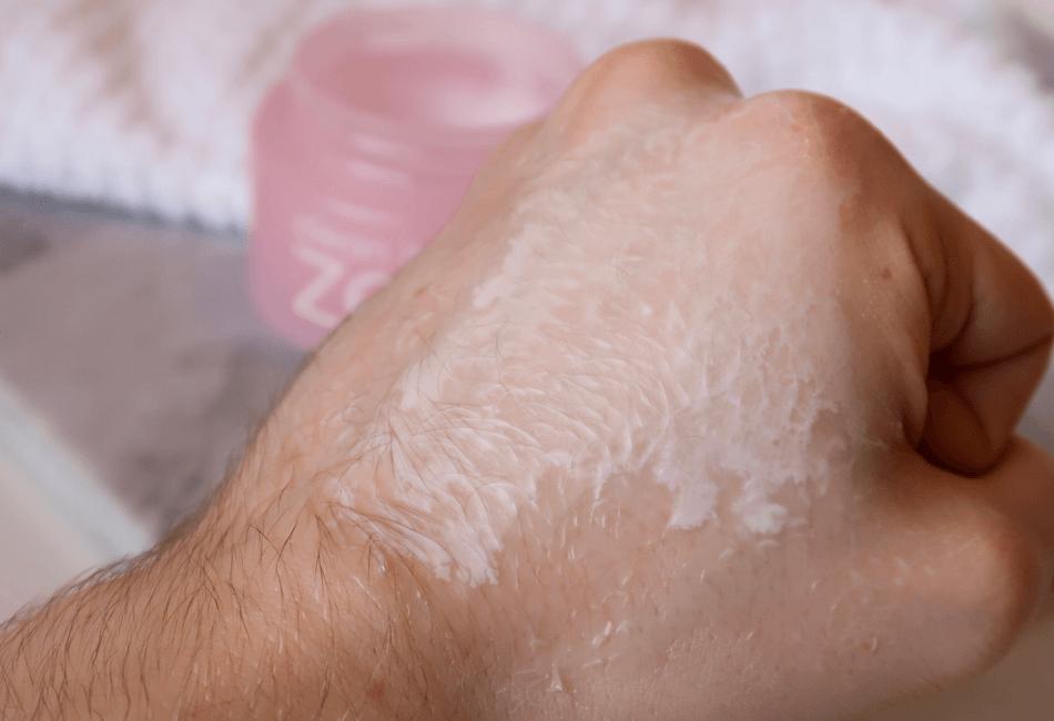Reinigungsbalsam Reinigungsöl Emulgieren mit Wasser
