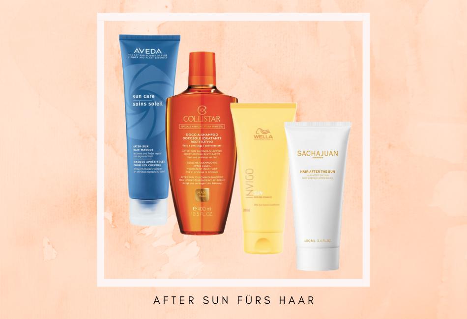 After Sun fürs Haar
