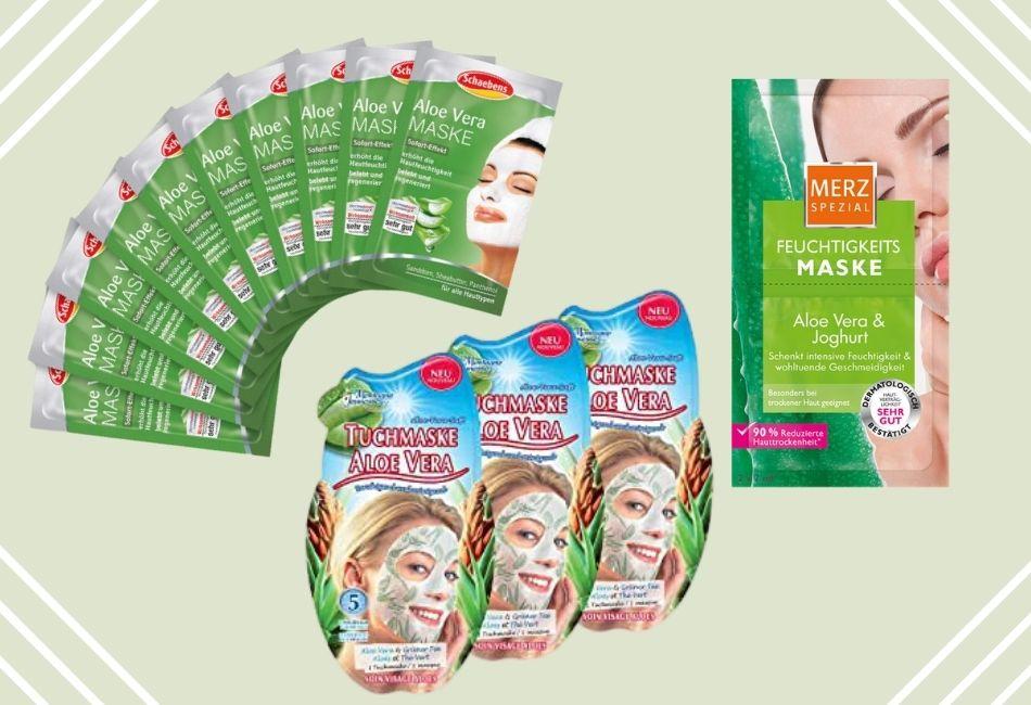 Aloe Vera für die Haut Maske für dein gesicht Produkte mit Aloe vera
