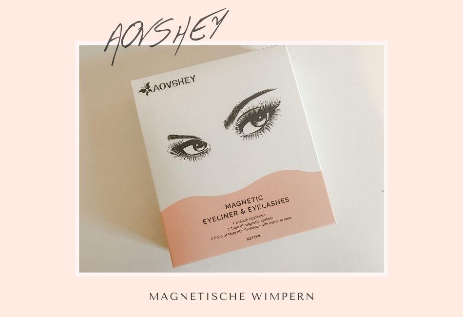 Aovshey Magnetische Wimpern