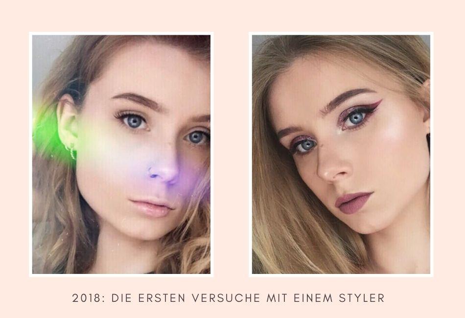 Anwendung Augenbrauenstift Styler Ergebnisse Eyebrows on fleek Tipps und Tricks