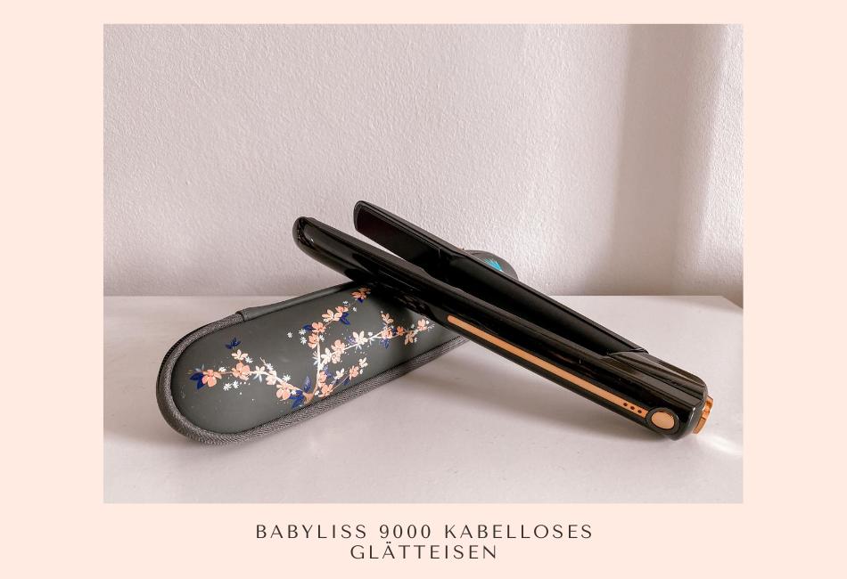BaByliss 9000 Kabelloses Glätteisen im Test