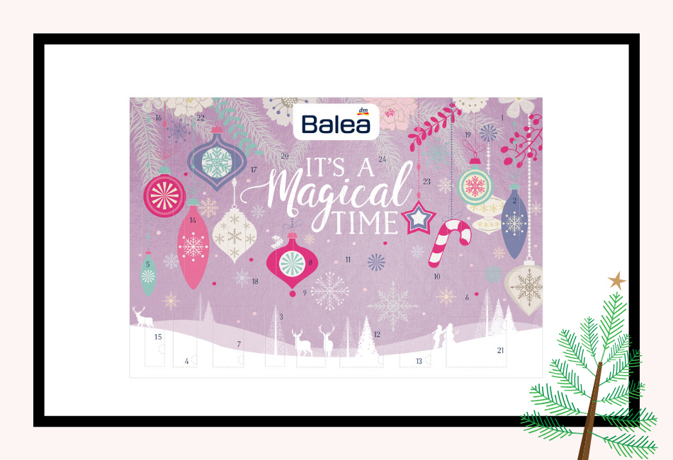 Balea beauty Adventskalender 2019