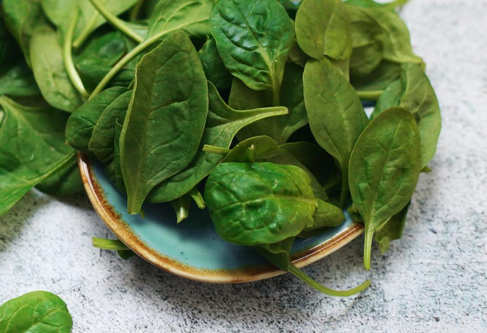Beauty Foods Spinat und Grünkohl