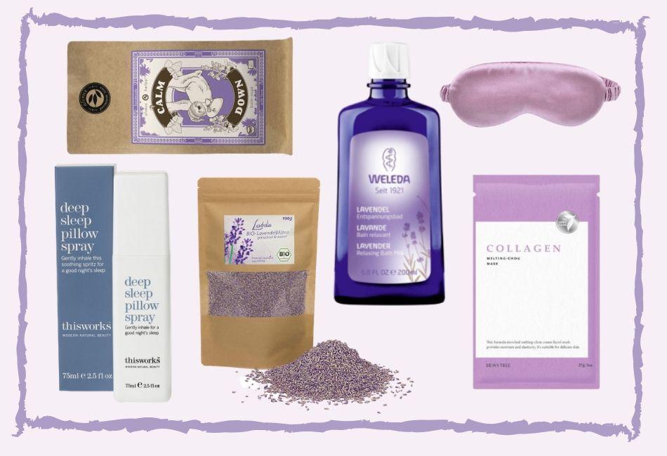 Tiefenentspannung erreichen mit einem Badritual mit Lavendel