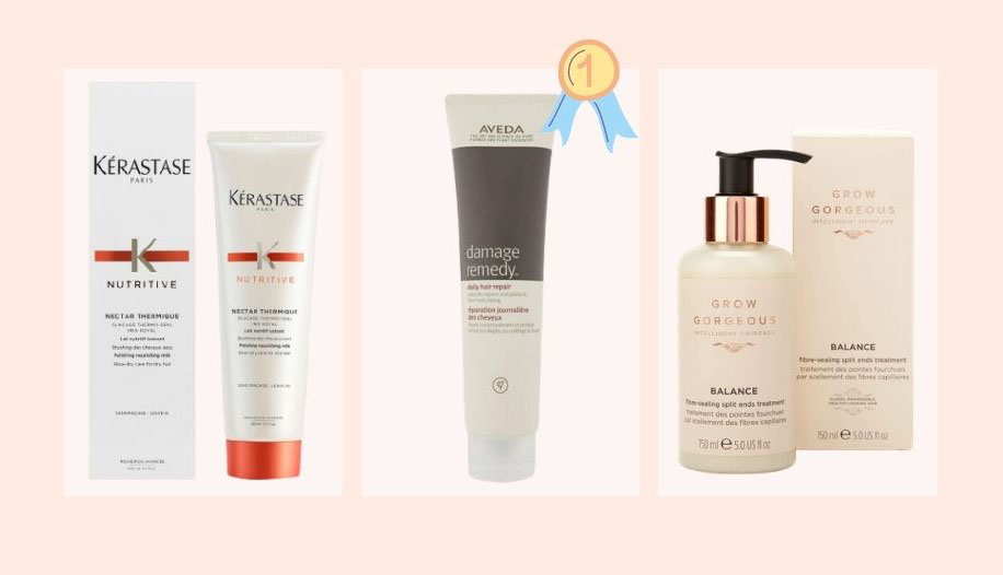 Leave-in und Anti-Spliss Pflege: Das sind die drei besten produkte für deine Haare
