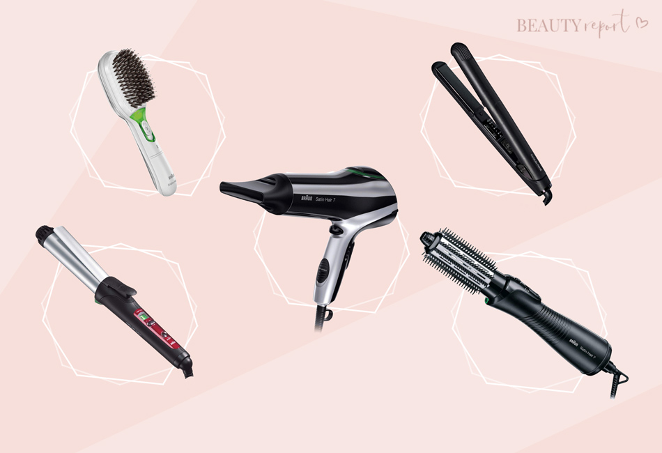 Die Stylingtools der Braun Satin Hair 7 Reihe im Vergleich