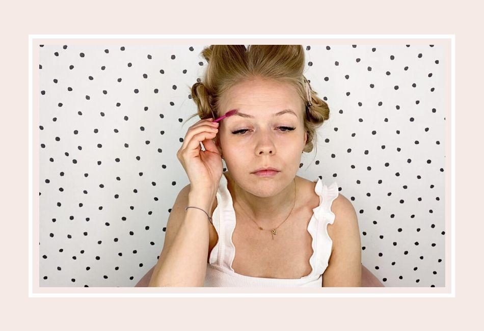 Anleitung: Mein Braut Make-up für die Hochzeit – Schritt 2 Augenbrauen