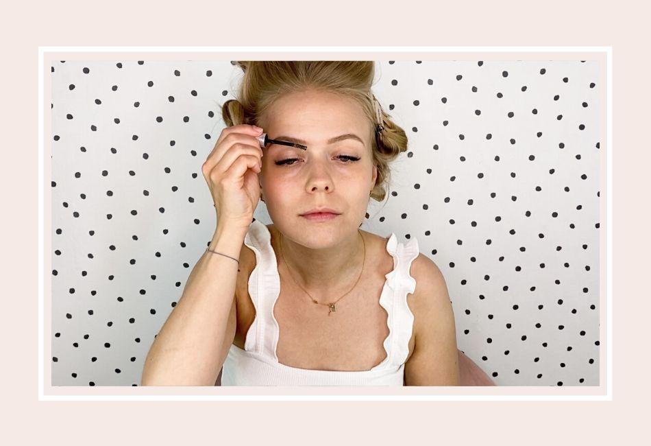 Anleitung: Mein Braut Make-up für die Hochzeit – Schritt 2 Augenbrauengel