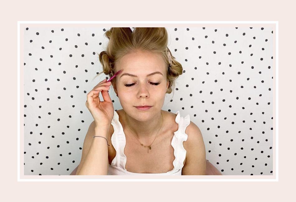 Anleitung: Mein Braut Make-up für die Hochzeit – Schritt 2 Augenbrauenstift
