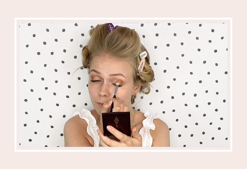 Anleitung: Mein Braut Make-up für die Hochzeit – Schritt 3 Augen-Make-up