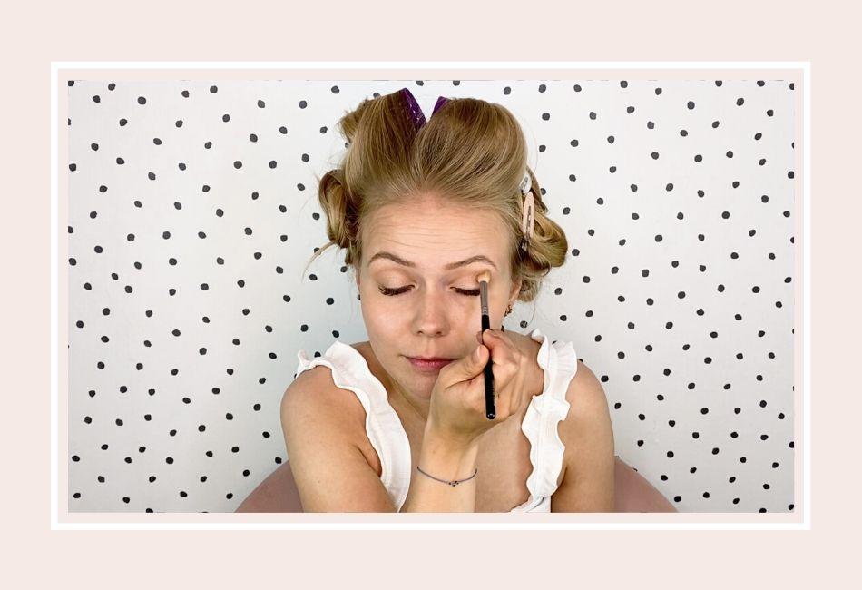 Anleitung: Mein Braut Make-up für die Hochzeit – Schritt 3 Augen-Make-up Lidschatten