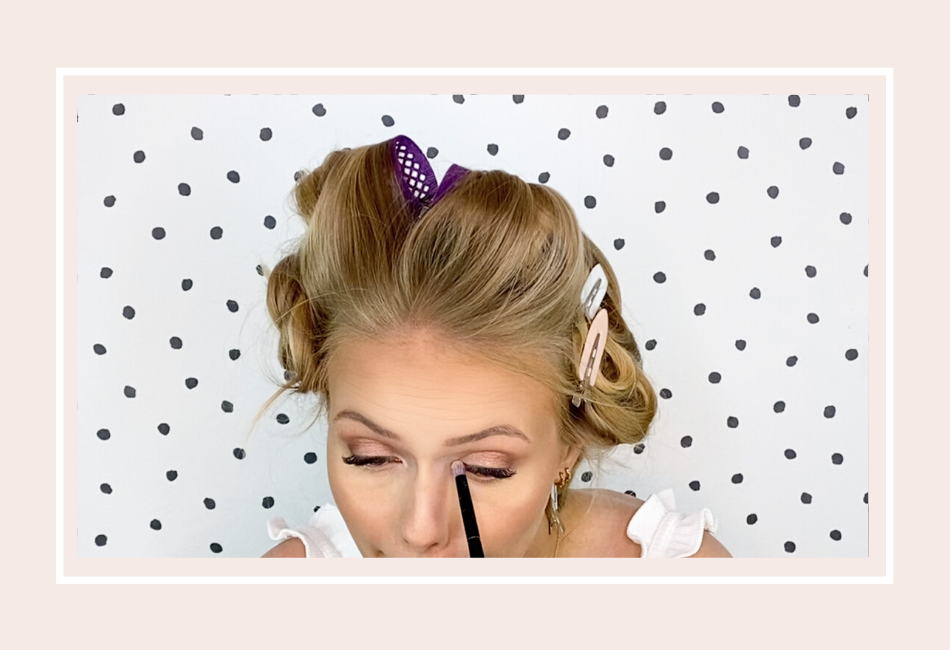 Anleitung: Mein Braut Make-up für die Hochzeit – Schritt 9 zweite Hälfte Auge-Make-up