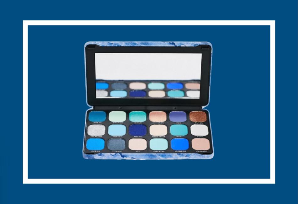 Pantone-Farbe des Jahres 2020 Beauty Lidschattenpalette