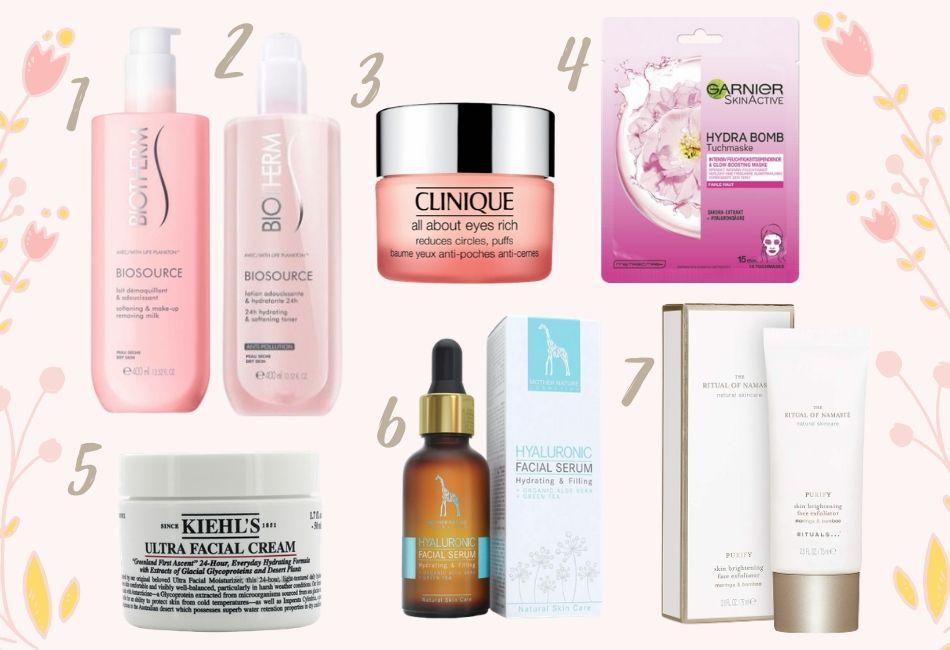 Die sieben besten Produkte um trockene Haut loszuwerden Empfehlungen