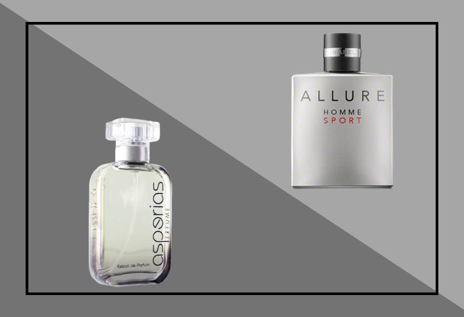 Duftzwillinge Herren: Parfum Dupe Chanel Allure Homme Sport