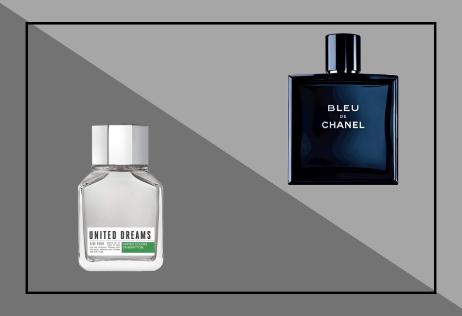 Duftzwillinge Herren: Parfum Dupe Bleu de Chanel