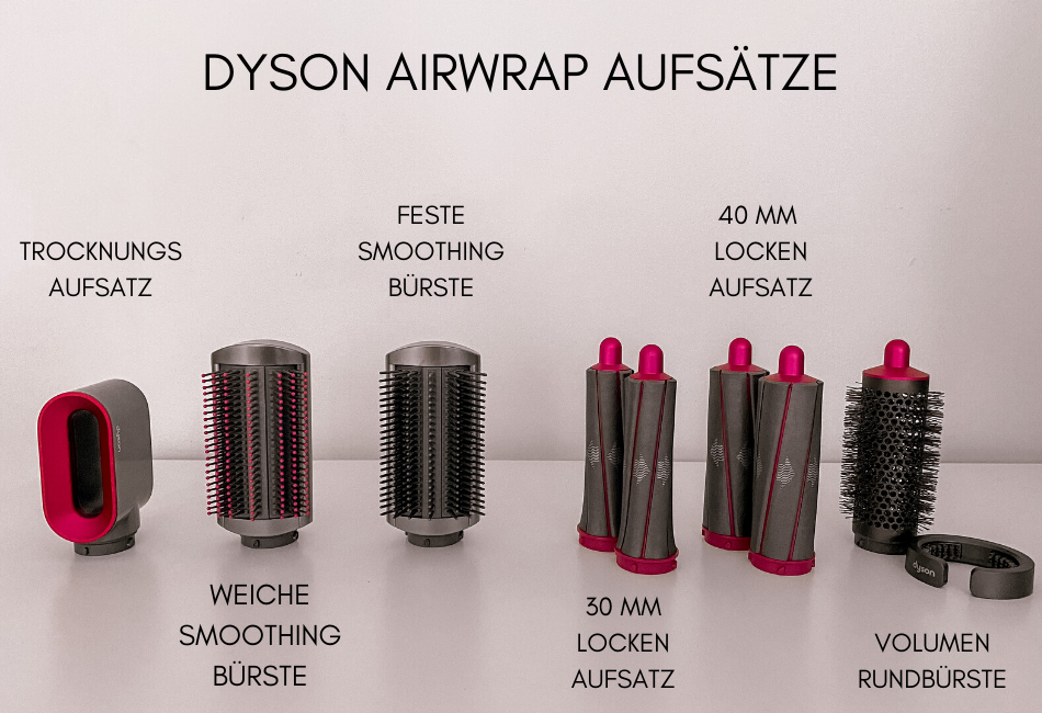 Dyson Airwrap Aufsätze