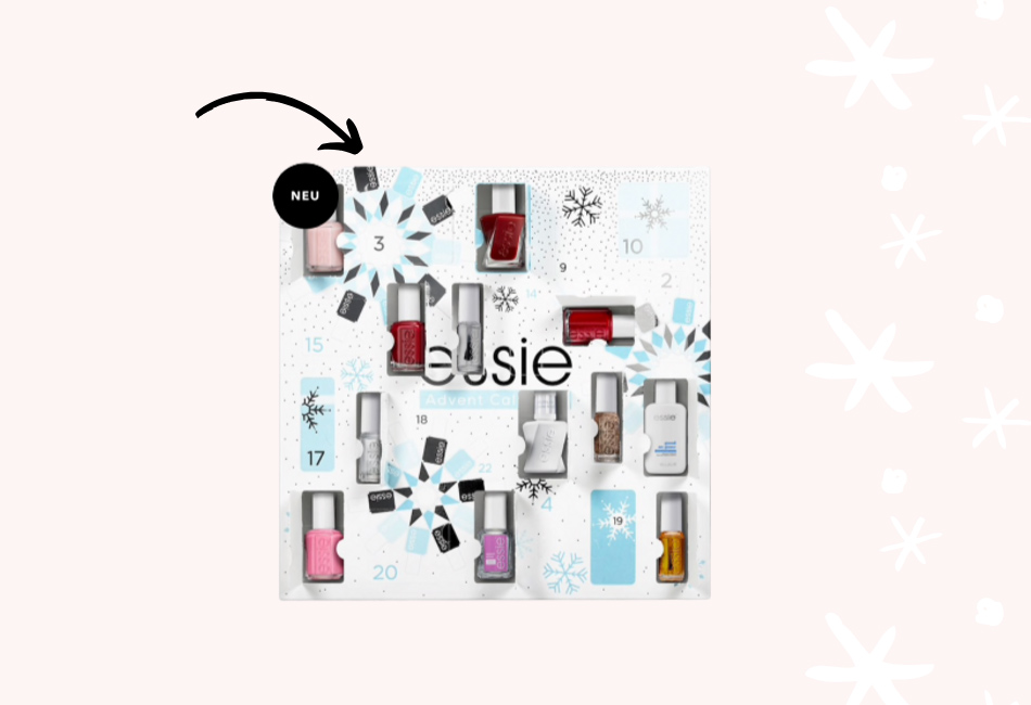 Essie Nagellack Beauty Adventskalender 2019