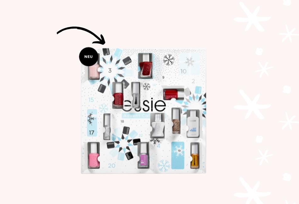 Essie Nagellack Beauty Adventskalender 2019