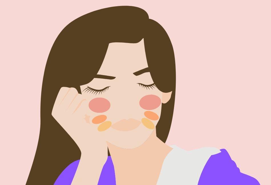 Face Mapping: Bedeutung von Pickeln und Rötungen auf den Wangen