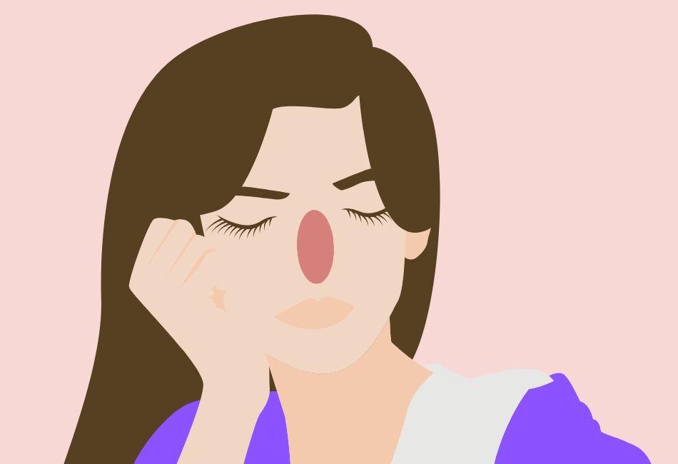 Face Mapping: Bedeutung von Pickeln auf der Nase