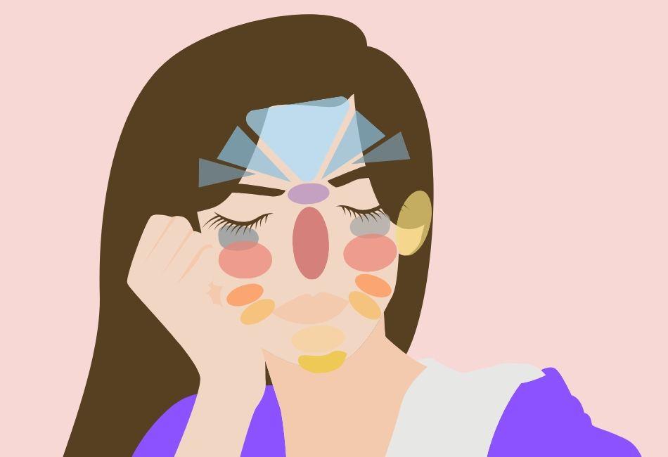 Face Mapping: Was es über deine Pickel aussagt