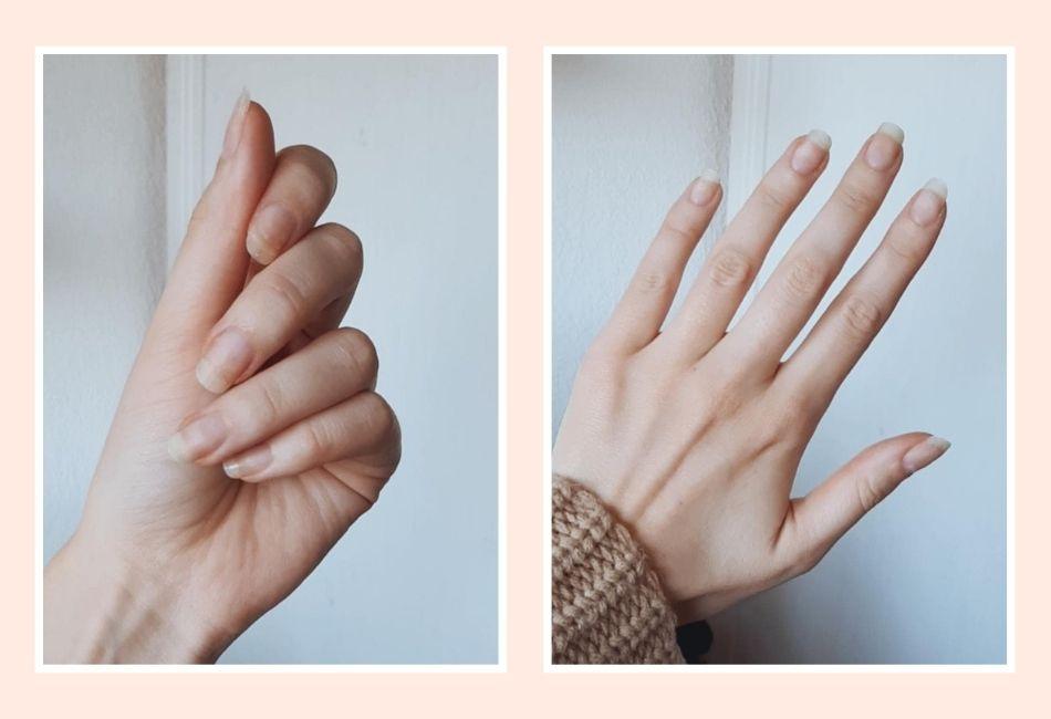 Gelnägel zuhause selber machen Anleitung lange Naturnägel Fingernägel Nagelpflege Gellack entfernen