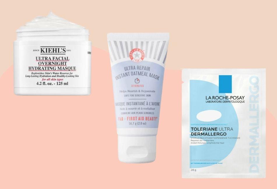 Gesichtsmasken für empfindliche sensible haut