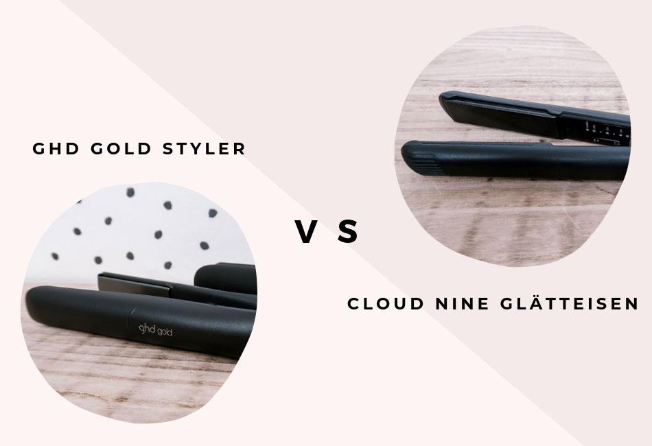 Die ghd und Cloud Nine Glätteisen im Vergleich