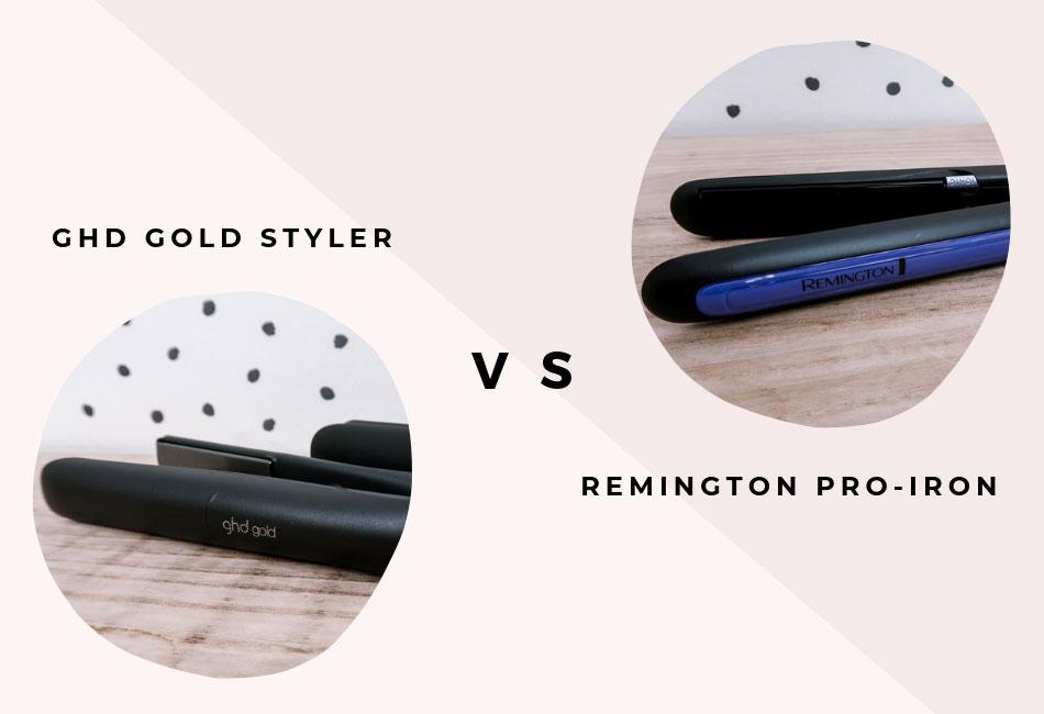 Die ghd und Remington Glätteisen im Vergleich