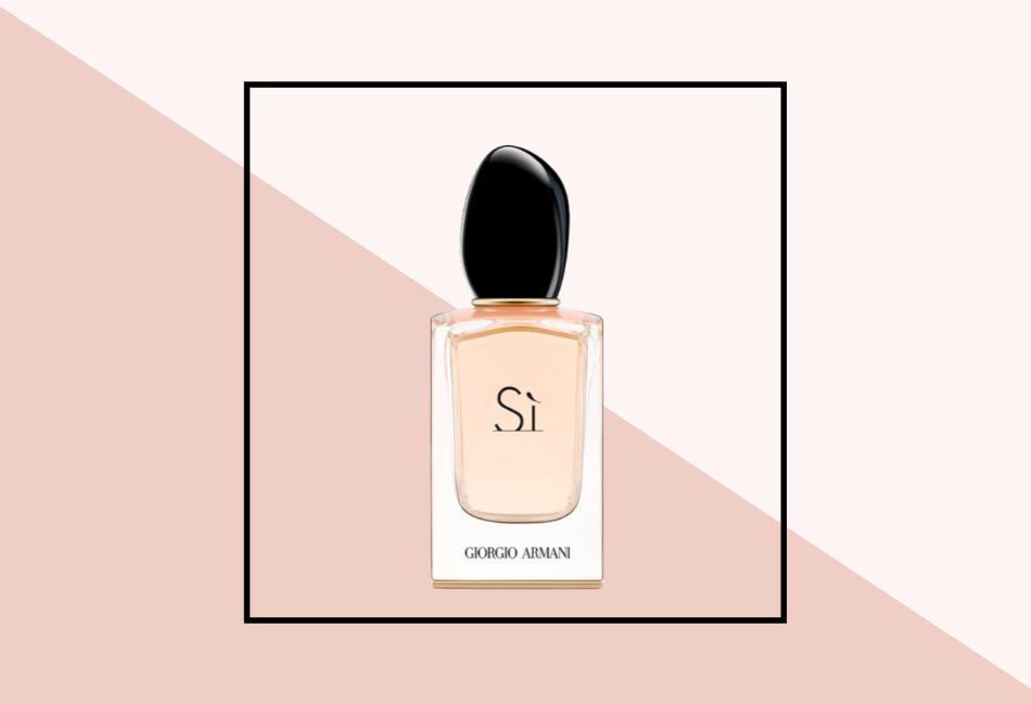 Pludriger Duft: Pudriges Parfum Giorgio Armani Sì