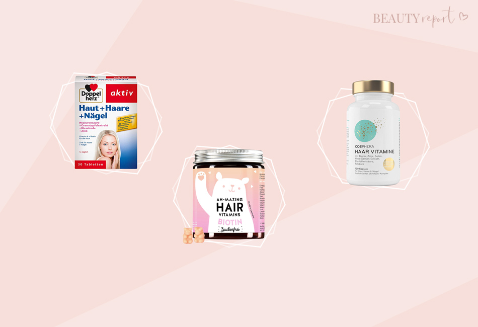Die besten Haar Vitamine: Bären, Kapseln Tabletten im Test & Vergleich