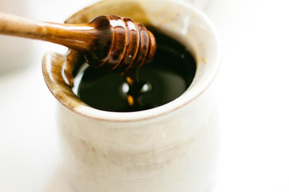 Honig-Zucker Lippenpeeling
