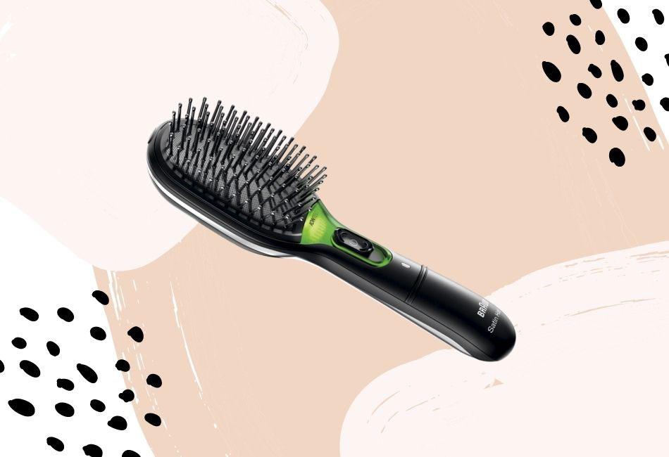 Ionen-Haarbürste von Braun