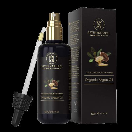 Kopfhautmassage mit Arganöl