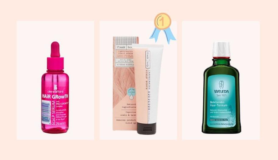 Die besten Pflegeprodukte für die Kopfhaut: Kopfhautpeeling, Kopfhautserum, Haartonikum