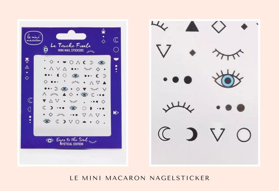 Le Mini Macaron Nagelsticker