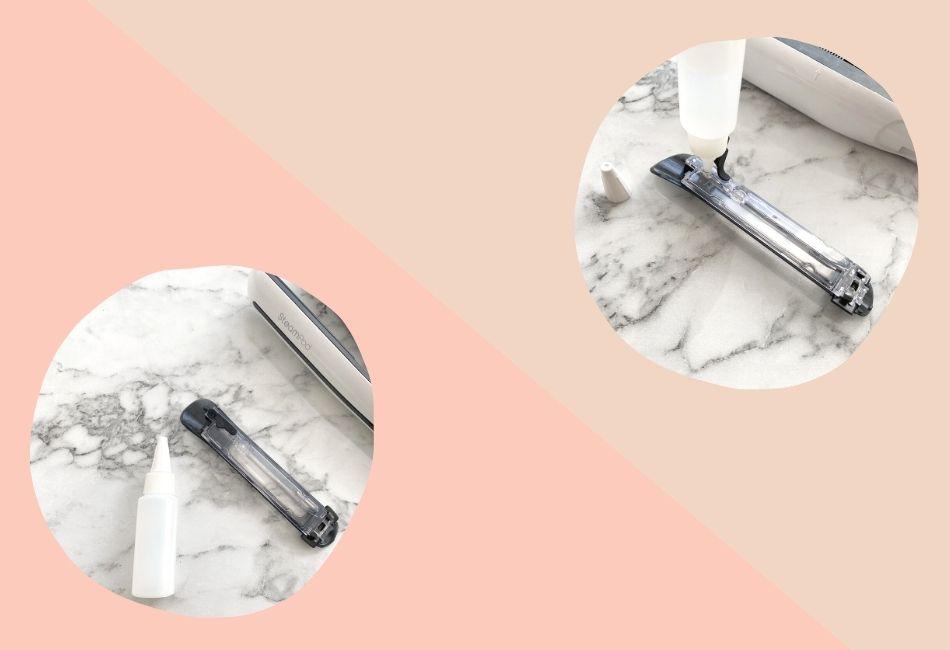 L'Oréal Steampod: Tank befüllen Anleitung