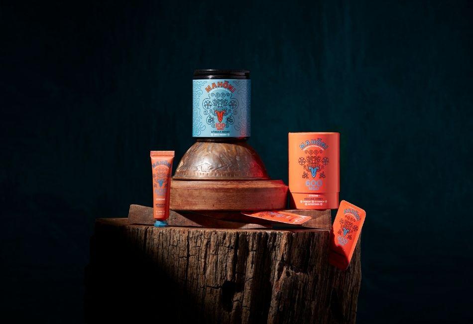 Verschiedene Manuka-Honig Produkte von Mahōni