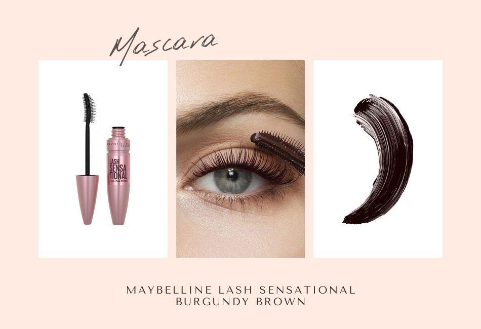 Mascara grüne Augen schminken