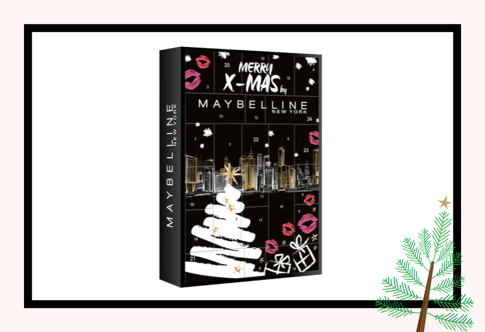 Inhalt Maybellin Beauty Adventskalender 2019