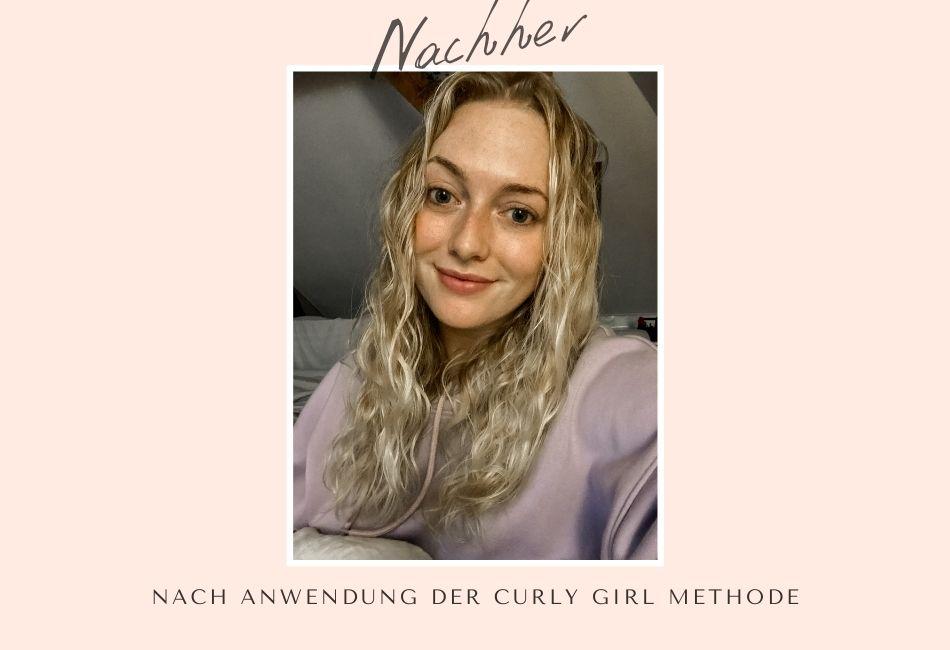 Nachher Curly Girl Methode